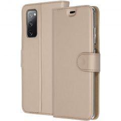 Accezz Custodia Portafoglio Flessibile Samsung Galaxy S20 FE - Oro