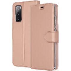 Accezz Custodia Portafoglio Flessibile Samsung Galaxy S20 FE - Rosa