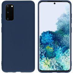 iMoshion Cover Color Samsung Galaxy S20 - Blu scuro