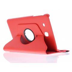 Custodia a Libro Girevole 360° Samsung Galaxy Tab E 9.6 - Rosso