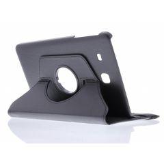Custodia a Libro Girevole 360° Samsung Galaxy Tab E 9.6 - Nero