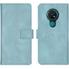 iMoshion Custodia Portafoglio de Luxe Nokia 6.2 / Nokia 7.2 - Azzurro
