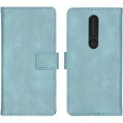 iMoshion Custodia Portafoglio de Luxe Nokia 4.2 - Azzurro