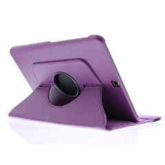 Custodia a Libro Girevole 360° Samsung Galaxy Tab S2 9.7 - Viola