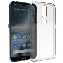 Accezz Cover Clear Nokia 4.2 - Trasparente
