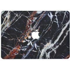 Custodia Rigida Design  MacBook Pro 15 inch (2016-2019) - Black Marble
