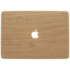 Custodia Rigida Design Macbook Pro 15 inch (2016-2019) A1707 - A1990 - Light Brown Wood