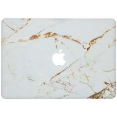 Custodia Rigida Design  MacBook Pro 16 inch (2019) - White Marble