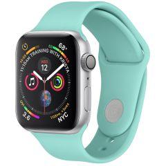 iMoshion Cinturino in Silicone Apple Watch Series 1 t/m 6 / SE - Verde menta