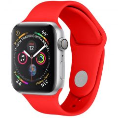 iMoshion Multipack Cinturino in Silicone Apple Watch Series 1 t/m 6 / SE - 42/44mm - Rosso