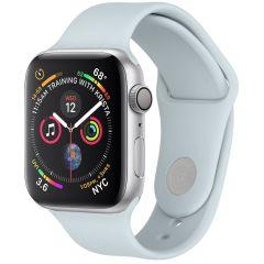 iMoshion Cinturino in Silicone Apple Watch Series 1 t/m 6 / SE - Azzurro
