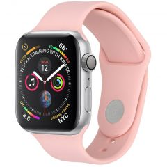 iMoshion Cinturino in Silicone Apple Watch Series 1 t/m 6 / SE - Rosa