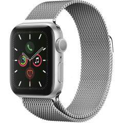 iMoshion Cinturino Milanese Apple Watch Series 1 t/m 6 / SE - 38/40mm - Argento