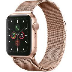 iMoshion Cinturino Milanese Apple Watch Series 1 t/m 6 / SE - 38/40mm - Rosa oro
