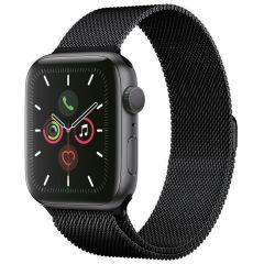 iMoshion Cinturino Milanese Apple Watch Series 1 t/m 6 / SE - 42/44mm - Nero