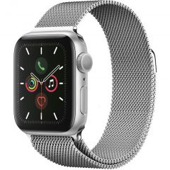 iMoshion Cinturino Milanese Apple Watch Series 1 t/m 6 / SE - 42/44mm - Argento