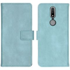iMoshion Custodia Portafoglio de Luxe Nokia 2.4 - Azzurro