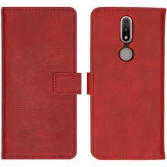 iMoshion Custodia Portafoglio de Luxe Nokia 2.4 - Rosso