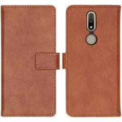 iMoshion Custodia Portafoglio de Luxe Nokia 2.4 - Marrone