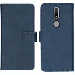 iMoshion Custodia Portafoglio de Luxe Nokia 2.4 - Blu scuro