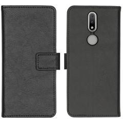 iMoshion Custodia Portafoglio de Luxe Nokia 2.4 - Nero