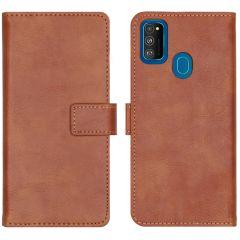 iMoshion Custodia Portafoglio de Luxe Samsung Galaxy M30s / M21 - Marrone