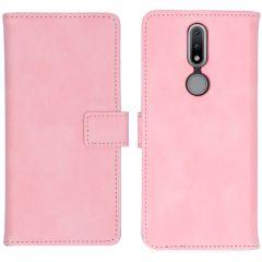 iMoshion Custodia Portafoglio de Luxe Nokia 2.4 - Rosa