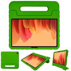 iMoshion Cover Antishoc Speciale Bambini con Manico Samsung Galaxy Tab A7 - Verde