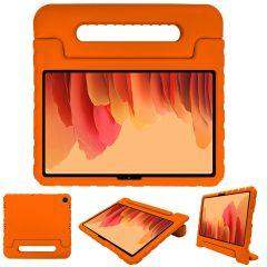 iMoshion Cover Antishoc Speciale Bambini con Manico Samsung Galaxy Tab A7 - Arancio
