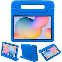 iMoshion Cover Antishoc Speciale Bambini con Manico Samsung Galaxy Tab S6 Lite - Blu