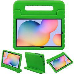 iMoshion Cover Antishoc Speciale Bambini con Manico Samsung Galaxy Tab S6 Lite - Verde