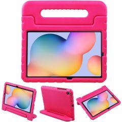 iMoshion Cover Antishoc Speciale Bambini con Manico Samsung Galaxy Tab S6 Lite - Rosa