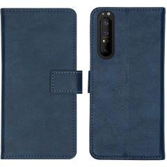 iMoshion Custodia Portafoglio de Luxe Sony Xperia 1 II - Blu scuro