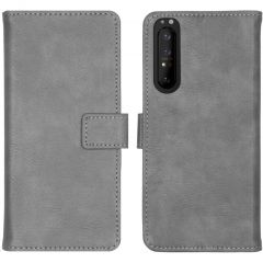 iMoshion Custodia Portafoglio de Luxe Sony Xperia 1 II - Grigio