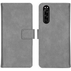 iMoshion Custodia Portafoglio de Luxe Sony Xperia 5 - Grigio