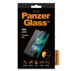 PanzerGlass Pellicola Protettiva Compatibile con la Custodia Nokia 6.2 / Nokia 7.2 - Nero