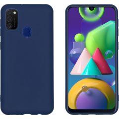 iMoshion Cover Color Samsung Galaxy M30s / M21 - Blu scuro