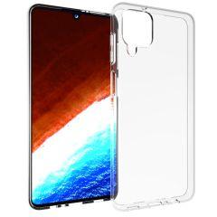 Accezz Cover Clear Samsung Galaxy A12 - Trasparente