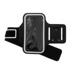 Fascia da braccio sportiva per iPhone 12 (Pro) - Nera