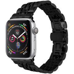 iMoshion Cinturino in acciaio Apple Watch Series 1 t/m 6 / SE - 38/40mm - Nero
