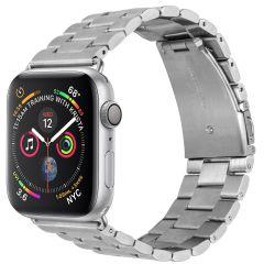 iMoshion Cinturino in acciaio Apple Watch Series 1 t/m 6 / SE - 42/44mm - Argento