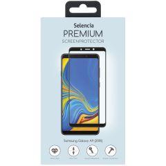 Selencia Pellicola Protettiva Premium in Vetro Temperato Samsung Galaxy A9 (2018) - Nero