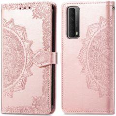iMoshion Custodia Portafoglio Mandala Huawei P Smart (2021) - Rosa