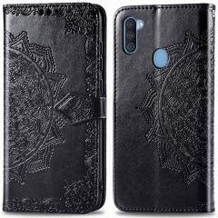 iMoshion Custodia Portafoglio Mandala Samsung Galaxy M11 / A11 - Nero