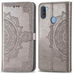 iMoshion Custodia Portafoglio Mandala Samsung Galaxy M11 / A11 - Grigio