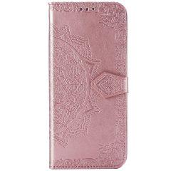 Custodia Portafoglio Mandala Sony Xperia 5 - Rosa
