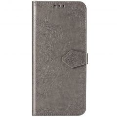 Custodia Portafoglio Mandala Sony Xperia 5 - Grigio