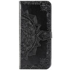 Custodia Portafoglio Mandala Sony Xperia 5 - Nero