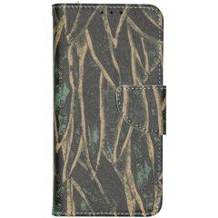 Custodia Portafoglio Flessibile Nokia 4.2 - Wild Leaves