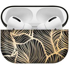iMoshion Custodia Rigida Design AirPods Pro - Golden Leaves